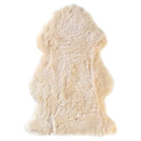 Kids Shop Merci Milo Sheepskin Unshorn Baby Rug
