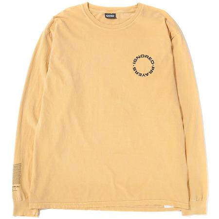 Ignored Prayers Inside the Mind Long Sleeve T-shirt - Mustard