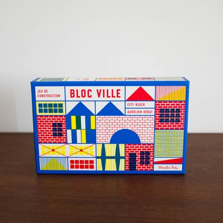 Kids Merci Milo Bloc Ville Building Blocks Set of 40 Pieces