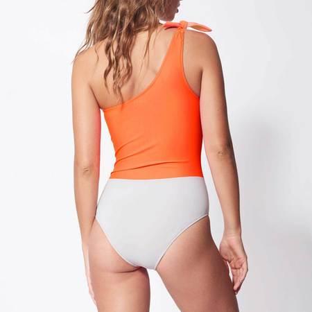 Bower Swimwear White Horse One Piece - Neon Multi
