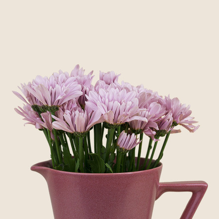 VINTAGE RETRO VASE/PITCHER - PINK