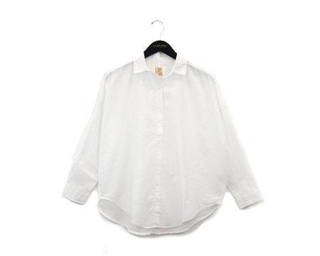 A Shirt Thing Davis Cabo Top - White