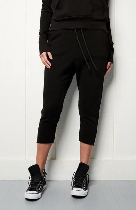 TEE LAB by FRANK & EILEEN Cropped Sweatpants - Carbon