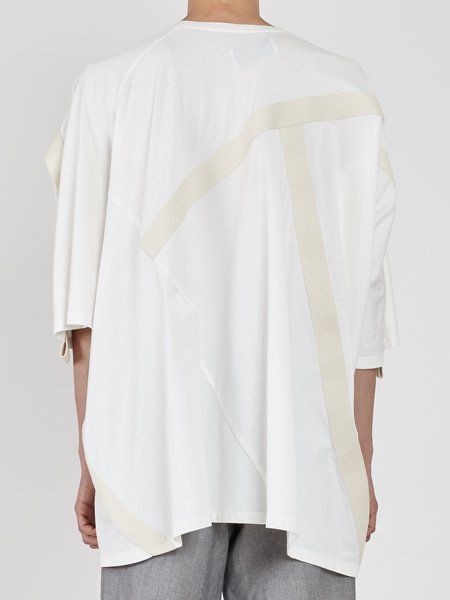 House of the Very Islands Deconstructed Dolman T-Shirt - White