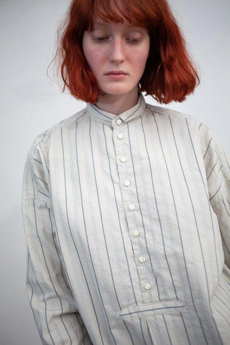 Nest Robe Cotton Striped Tunic - White