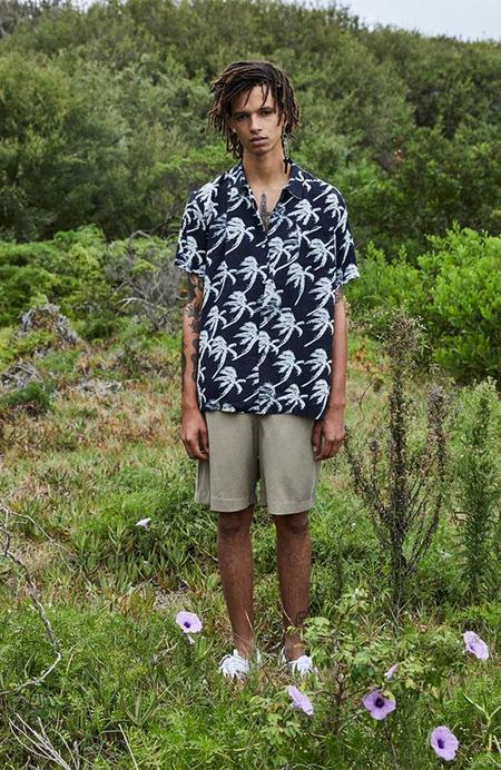 Unisex Double Rainbouu Short Sleeve Hawaiian Shirt - Blow Out Black