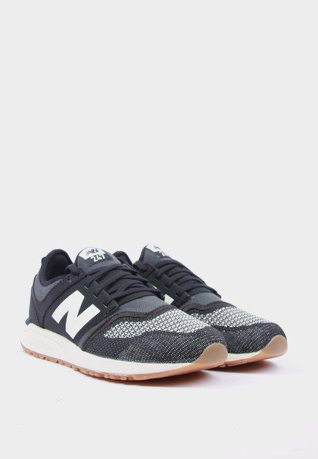 New Balance 247 Engineered Cotton - Black/Cream