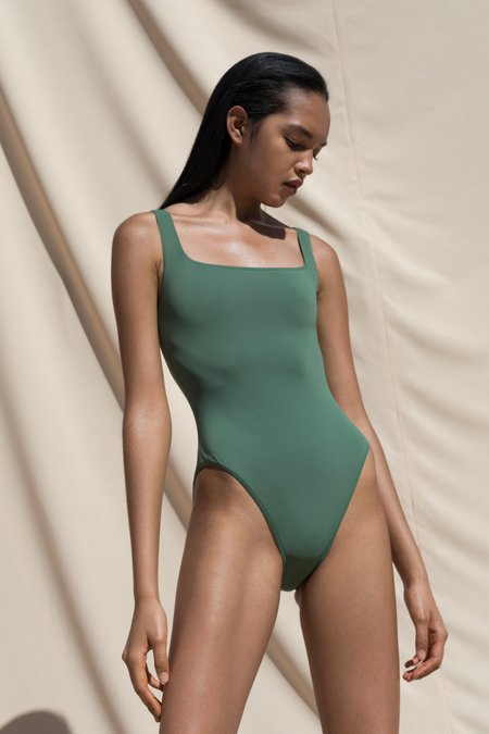 Pari Desai Sylph One Piece Swimsuit - Jade