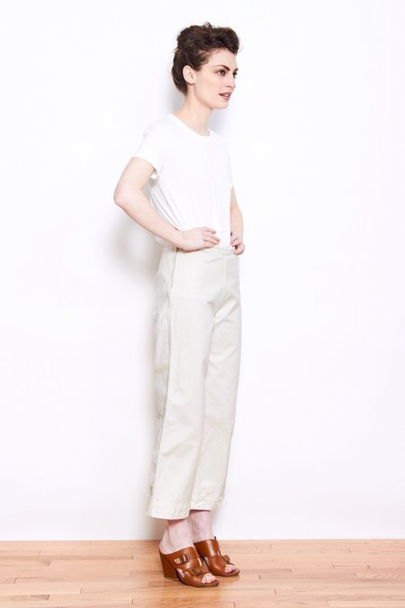 Ali Golden Twill Pant - Bone
