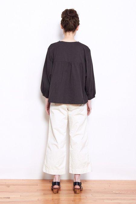 Persons Marla Cotton Yoke Shirt - Slate