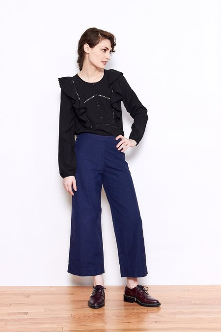 Persons Prue Blouse - Coal