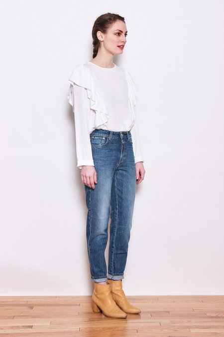 Persons Tally Blouse - Salt