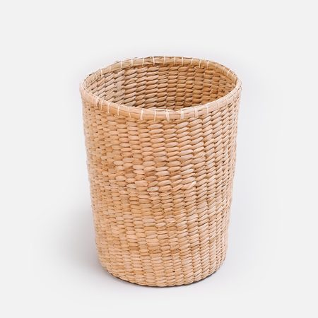 Someware Round Enea Waste Basket - Natural