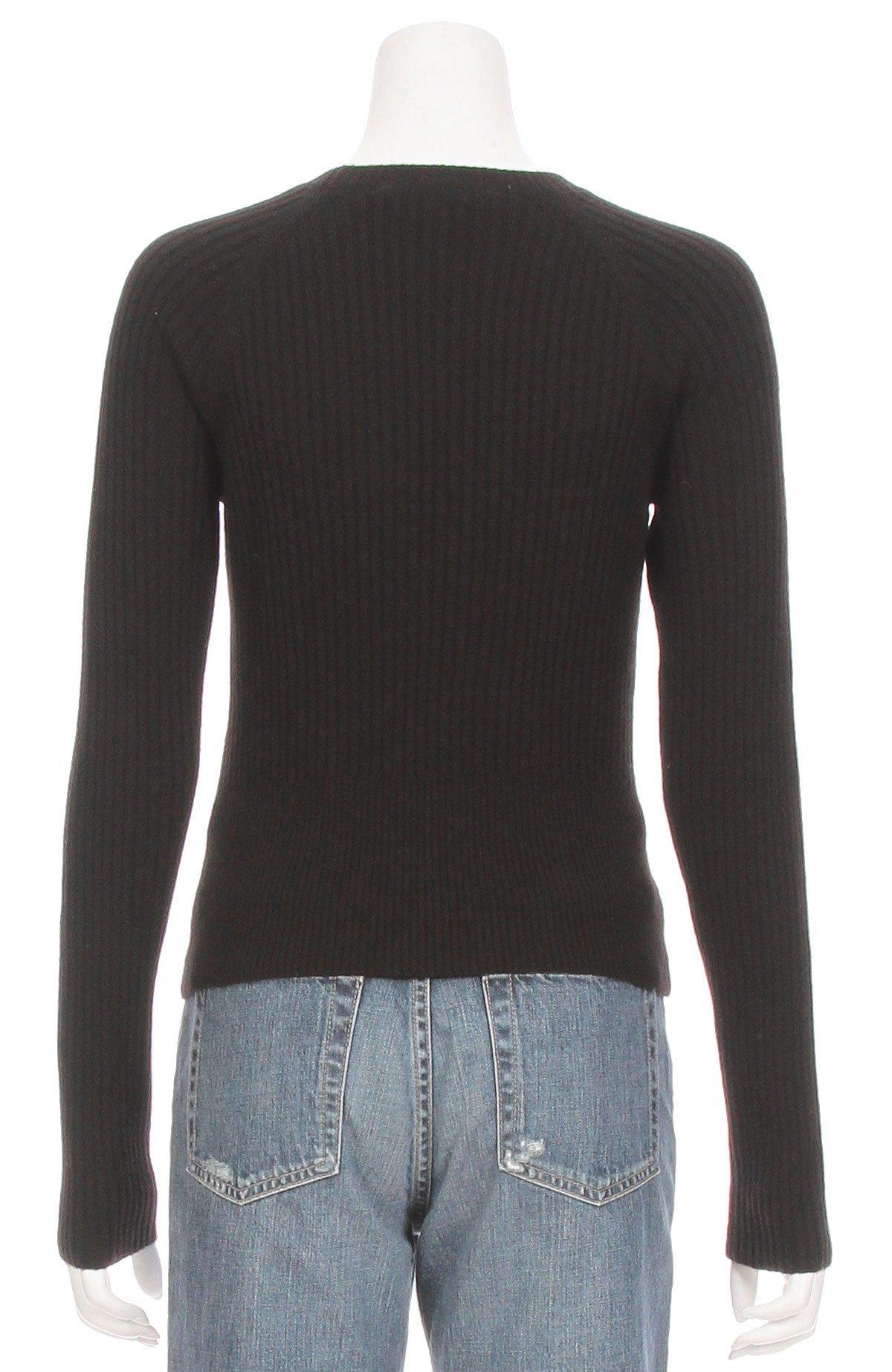 c1083549e76a8 Frame Denim Twisted Keyhole Sweater | Garmentory