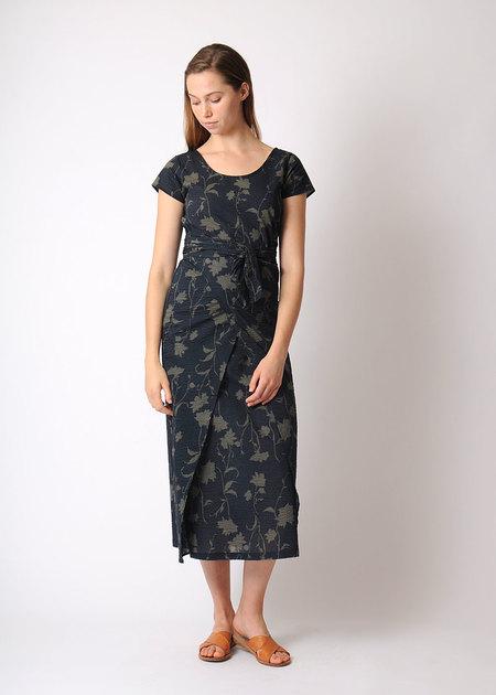 Pale Fire Bundle Dress - black crinkle