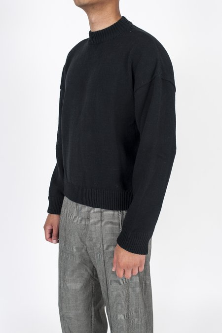 Our Legacy Sonar Roundneck Sweater - Black