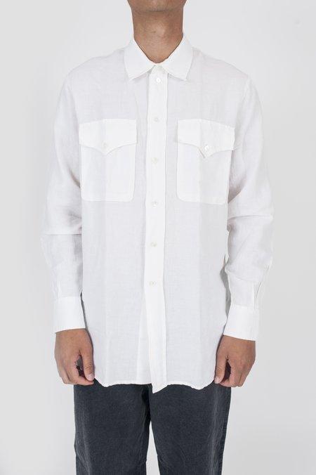 Our Legacy Xplore Shirt - White Linen