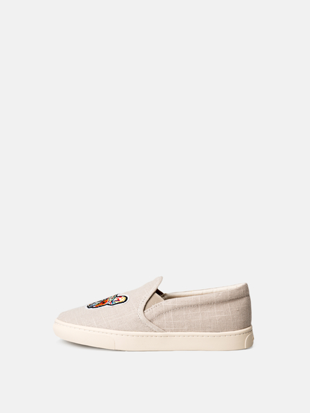 Soludos Frenchie Slip on Sneakers - Light Grey