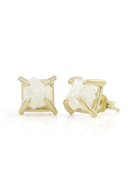 Enji Alta Earrings - 14K White Gold