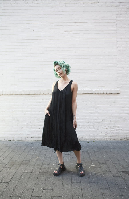Oak Calyer Dress - Black