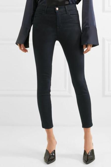 J Brand Alana High-rise Cropped Skinny Jeans - Bluebird
