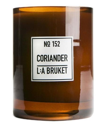 L:A BRUKET Coriander Candle