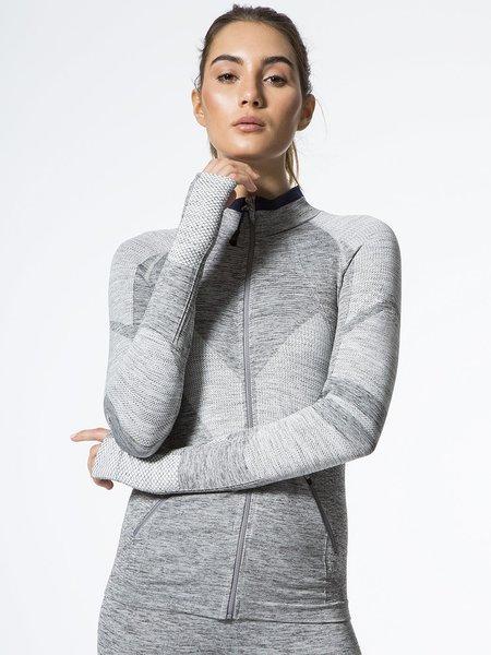 LNDR The Summit Jacket - Grey Marl