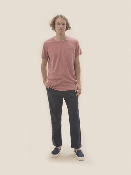General Admission California Pocket Tee - Dusty Rose