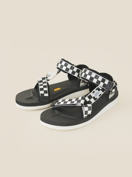 SUICOKE Depa - Black/Check