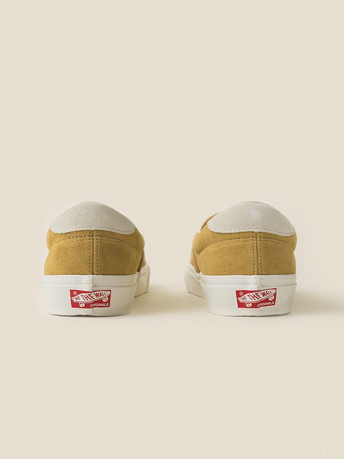 60aaaf0ef0 VANS VAULT Suede OG Slip-On 59 LX - Honey Mustard Marshmallow ...