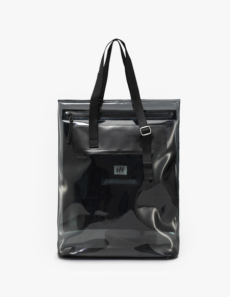 Eytys Void Tote - Clear Ink