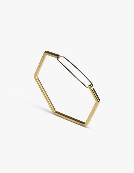 The Boyscouts Seize Hexagon Bracelet - Gold