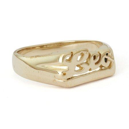 Snash Zodiac Leo Ring - Gold