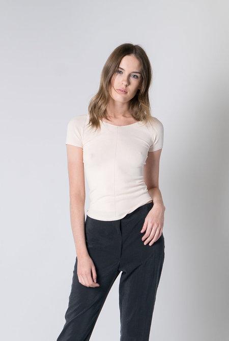 Lemaire Short Sleeve Leotard - Cream