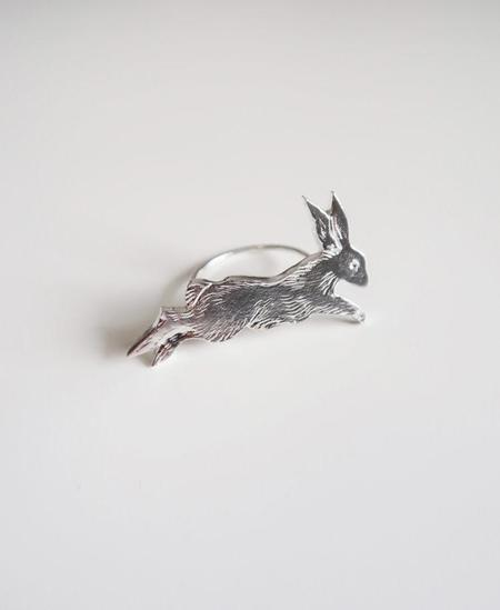 Invidiosa Jewelry Leaping Rabbit Ring