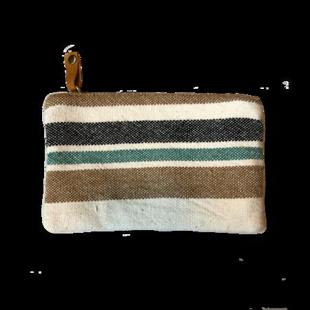 Ceri Hoover Waller Wallet - Natural Stripe