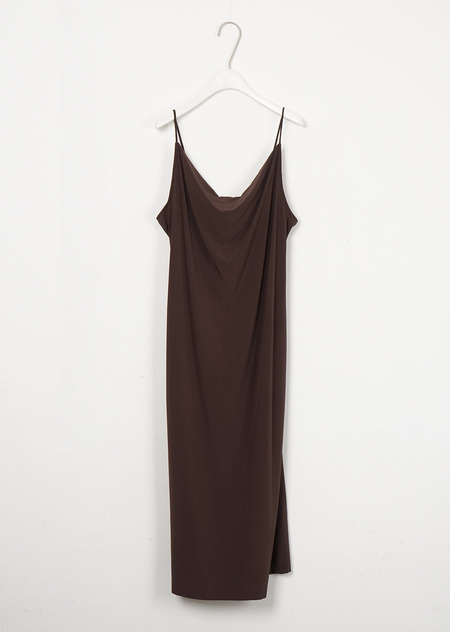 AMOMENTO LOOSE NECK SLIP DRESS