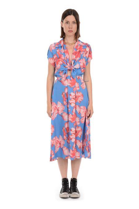 Lindsey Thornburg Jordy Blue Clark Dress - Floral