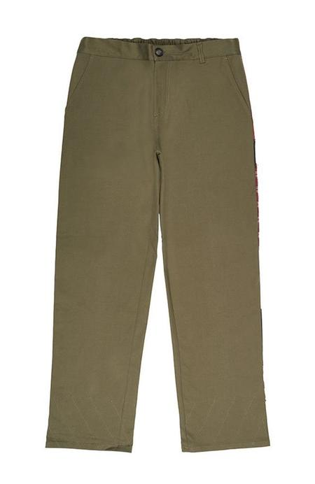 78 STITCHES 2.2 Slouch Pant - Army Green