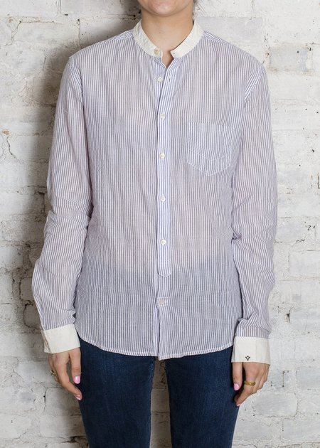 Bsbee Blue Fremont Pinstripe Power Shirt