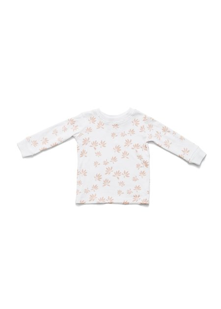 Kids Lewis Blush Palm Pajama Set