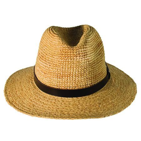 Unisex Canadian Hat Cary Fedora Hat - Natural