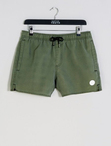 Native Youth Sandside Swim Short - Olive