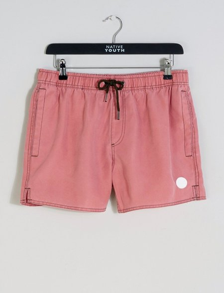 Native Youth Sandside Swim Short - Pink