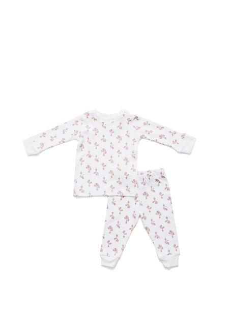 Kids Lewis Mauve Radish Pajama Set