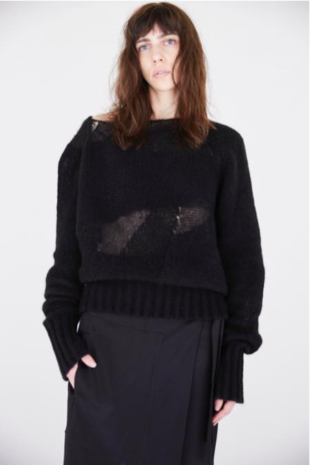 KES Intarsia Cashmere Light Sweater