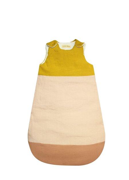 Kids La Petite Collection Pink Graphic Gauze Sleeping Bag