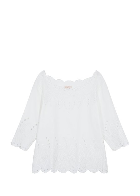 Louise Misha Minouchka Top - White