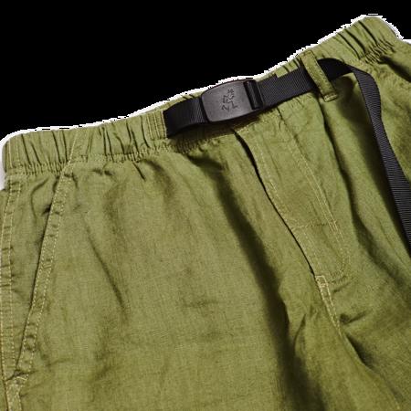 Unisex Gramicci Linen Shorts - Olive