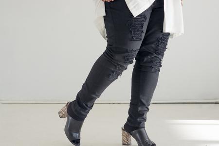 Carmakoma Elgon Ripped Jeans